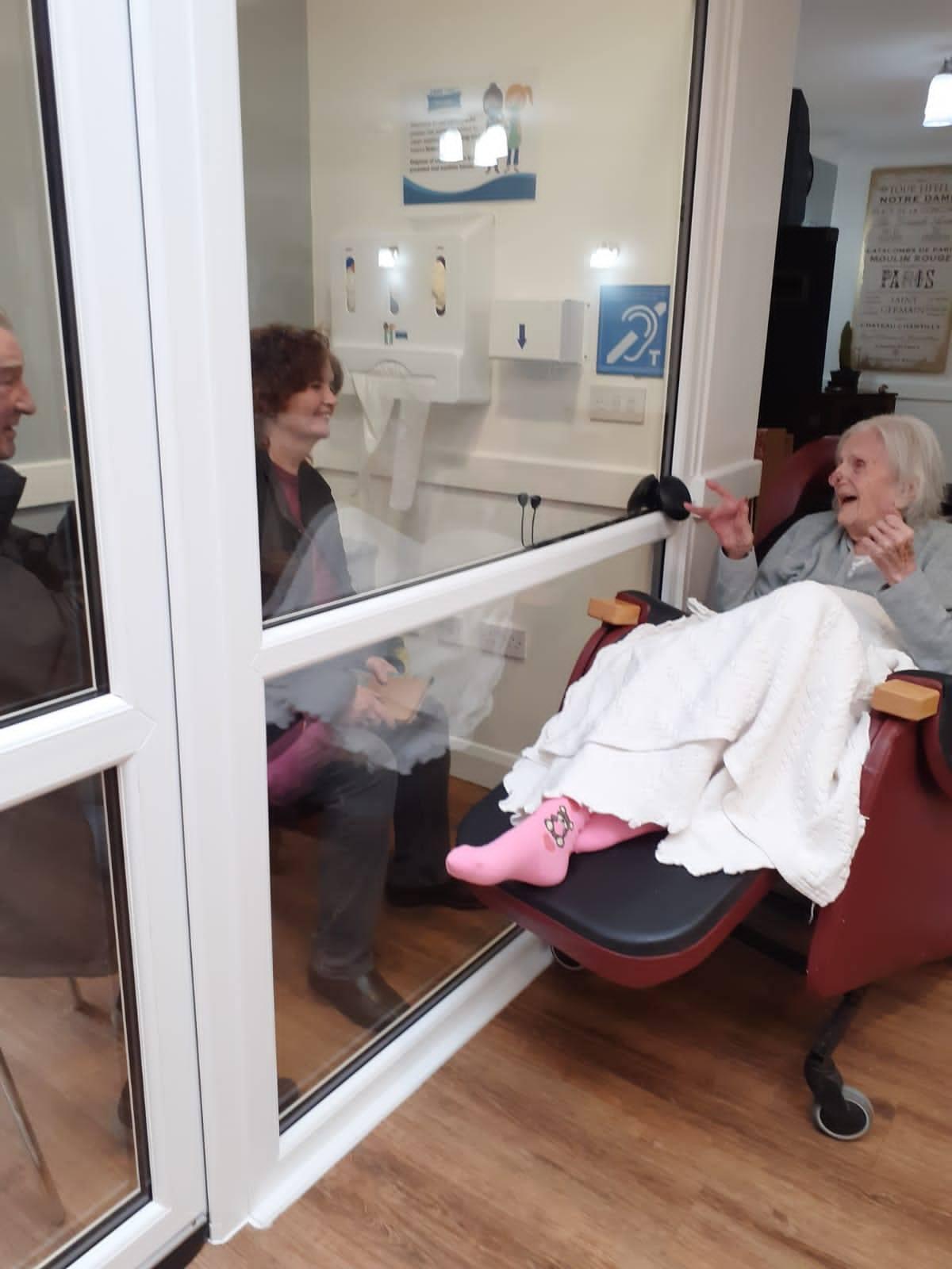 Family Visiting Pod